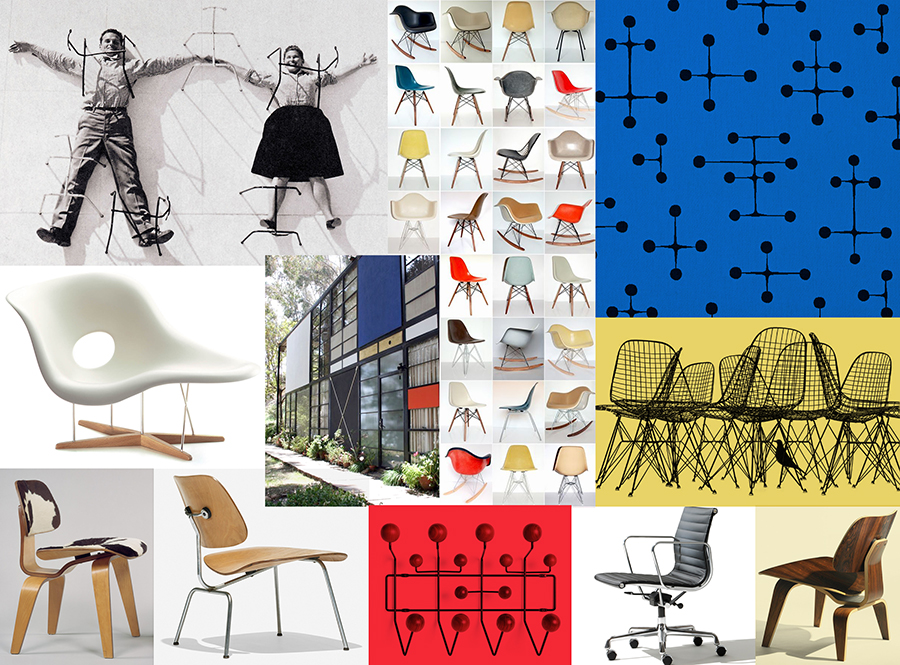 Charles & Ray Eames were Eric's Godparents. Two of the most innovative American designers of the mid-twentieth century.