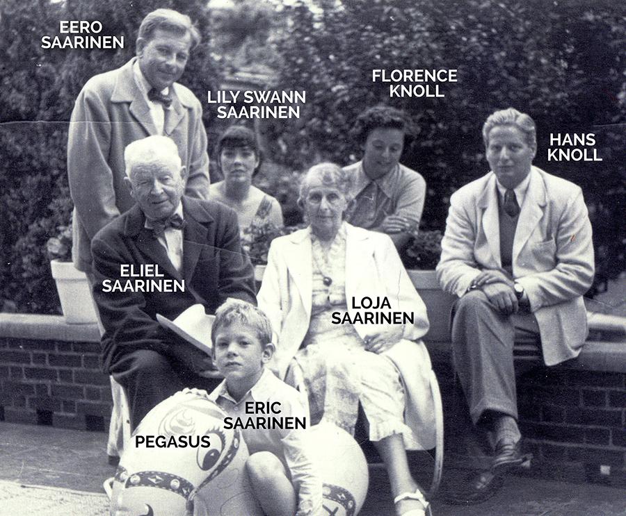 3 generations of Saarinens.