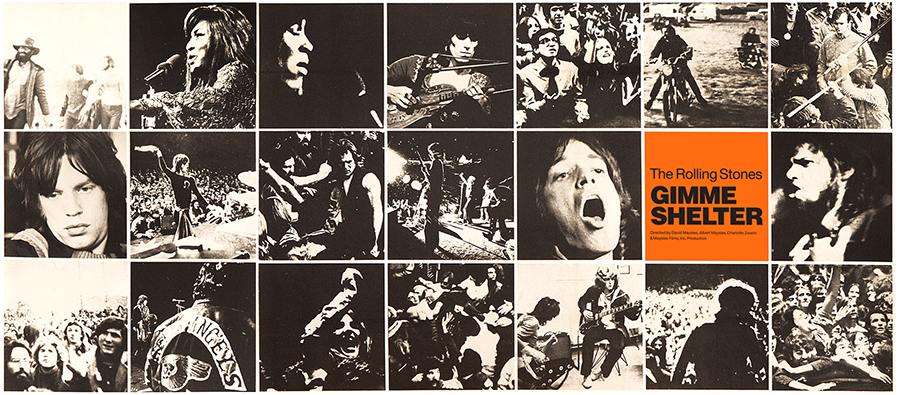 1970. The Rolling Stones had hired the Hell's Angels for Security at Altamont. They were paid $500 in beer and seconal. I had a front and center post. Out came a guy in a green outfit and top hat waving a 357 magnum. I saw him being stabbed to death by a Hell's Angel. Right there.