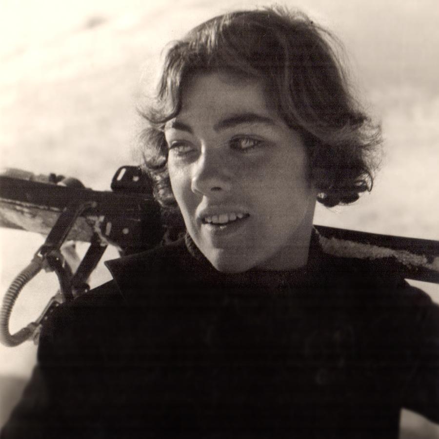 Lily Saarinen was on the first U.S. Women's Alpine Ski Team at the 1936 Winter Olympics.